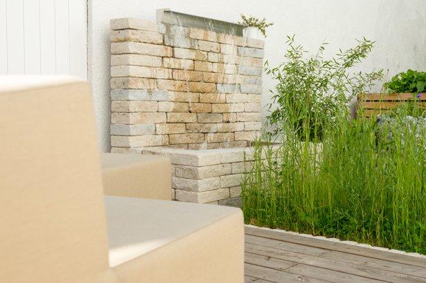 Gartengestaltung mit Wasser in München
