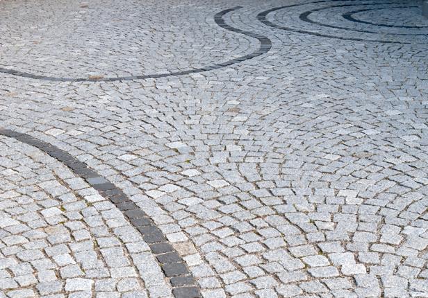Gartenweg aus Naturstein, München