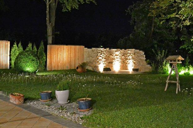 Außenbeleuchtung und Gartenbeleuchtung in München gestalten