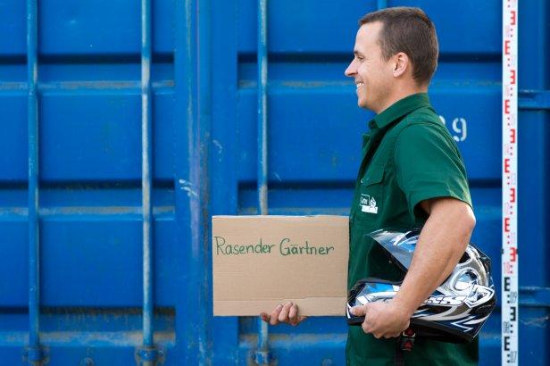 Mitarbeiter Galabau Betrieb München