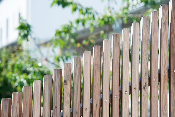 Gartenbau Holzzaun